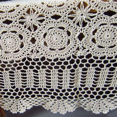 square cloth tablecloths crochet tablecloth