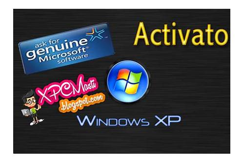 how to activate windows xp sp3 after 30 day limit