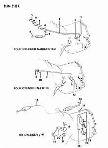 1986 Jeep Comanche Linkage  Automatic Transmission