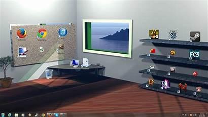 Shelf Gaming Desktop Cool Wallpapers Icon Organizer