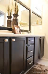 ideas for painting bathroom cabinets painted bathroom cabinets for the home