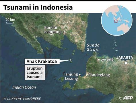 scientists  krakatau landslide caused indonesia tsunami