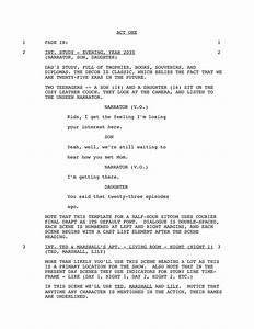 script writing template 28 images 11 script writing With free movie script template