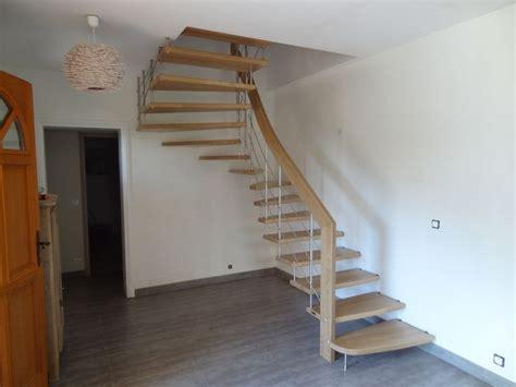 escalier suspendu design en ch 234 ne massif treppenmeister