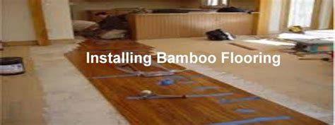 Installing Bamboo Flooring   The Flooring Lady
