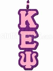 kappa epsilon psi greek letter tiki necklace With kappa kappa psi letters