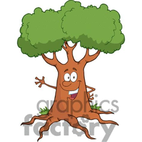 Tree face clipart   Clipground