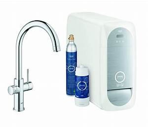 Grohe Blue Home Erfahrungen : grohe blue home c spout starter kit kitchen taps from ~ Michelbontemps.com Haus und Dekorationen