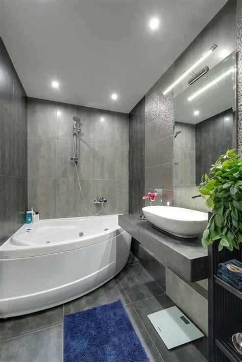 Дизайн ванной в современном стиле особенности, фото в