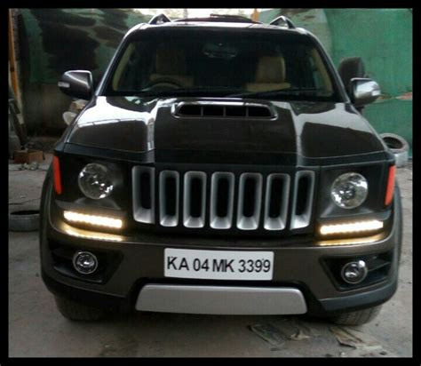 Jeep Renegade Modification by This Modified Toyota Fortuner Dresses Up As A Jeep