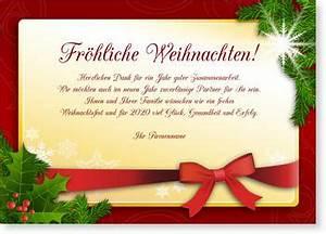 Text Für Weihnachtskarten Geschäftlich : weihnachtskarten gesch ftlich wunderkarten ~ Frokenaadalensverden.com Haus und Dekorationen