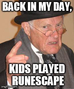 Back In My Day Meme - back in my day meme imgflip