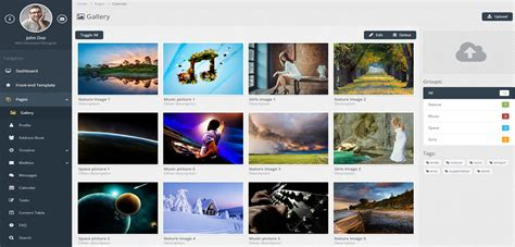 bootstrap gallery bootstrap gallery template multi purpose html5 bootstrap gallery template11 templates station