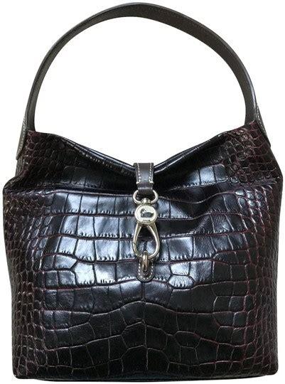 dooney bourke reversible logo lock bordeaux leather
