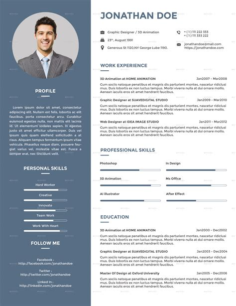 creative resume about me 28 images 80 best images