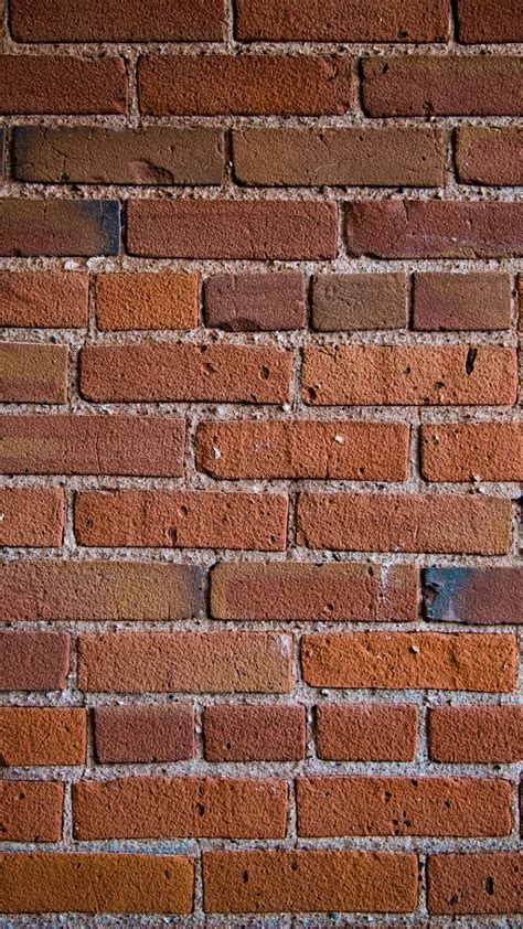 Download Wallpaper 938x1668 Wall Bricks Texture Iphone 8