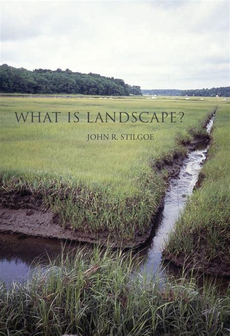 landscape  mit press