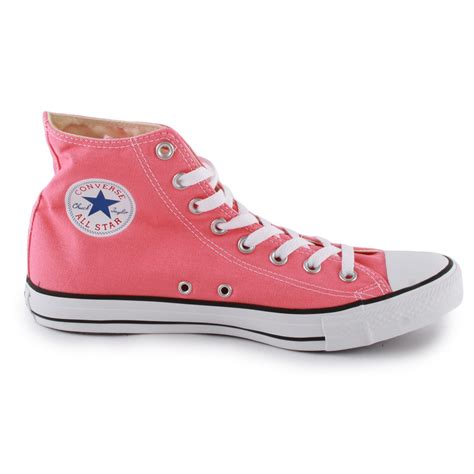 light pink converse converse chuck all hi unisex trainers in light