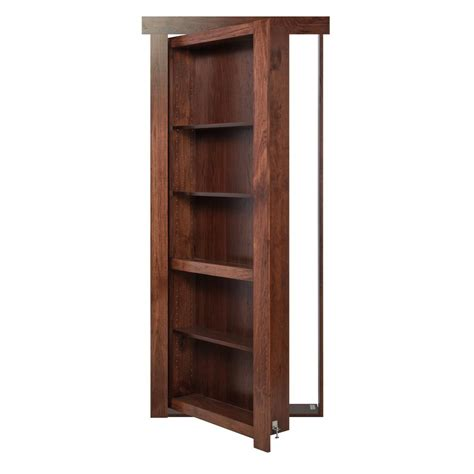 Murphy Bookcase by The Murphy Door 28 In X 80 In Assembled Stained