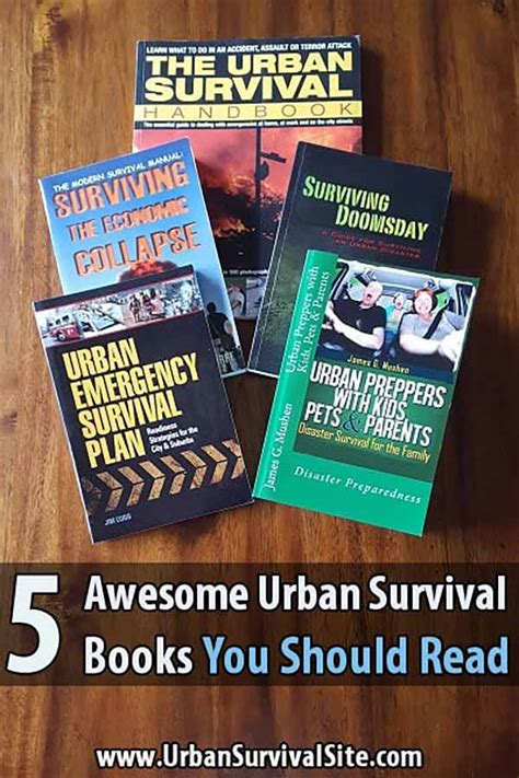 5 Awesome Urban Survival Books You Should Read