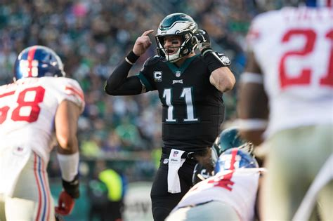 eagles give clear message  carson wentz  nick