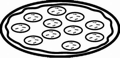 Pizza Coloring Coloring4free Pepperoni Printable Preschooler Select