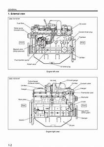 Mitsubishi Diesel Engines S6s