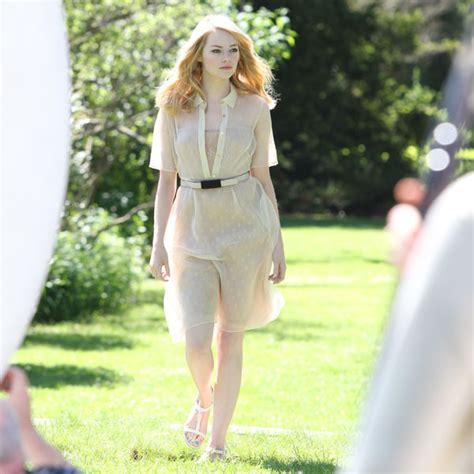 Emma Stone's Nearly Naked Revlon Canada Commercial