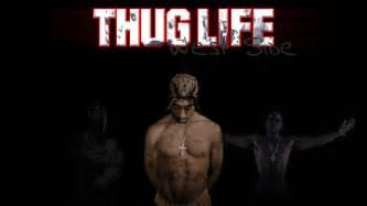 Tupac Shakur Wallpaper by 2pac Thug Life Wallpaper Wallpapersafari