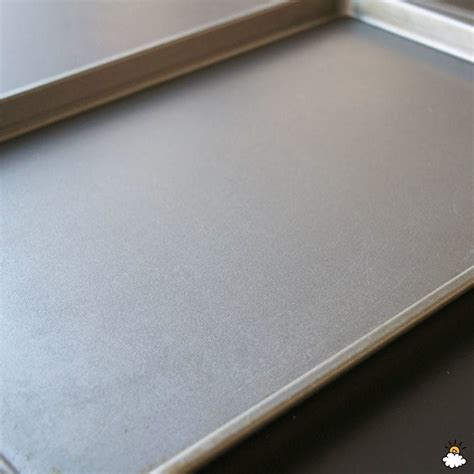 cookie sheets clean burnt sheet aluminum littlethings cleaning stains baking way brand nonstick