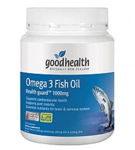 oil fish omega 1000mg health nz acids fatty essential
