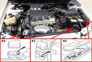 Fuse Box Diagram Toyota Solara  Xv20  1998
