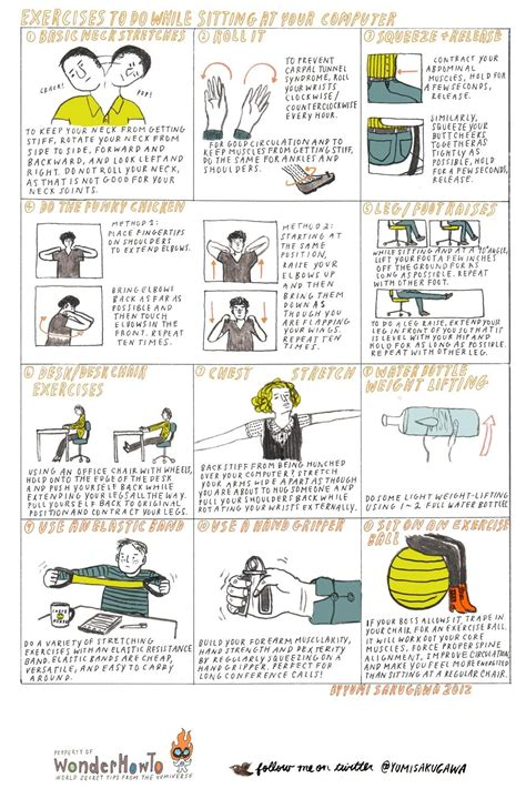neck exercises at your desk 11 exercises to do while sitting at your computer 171 the