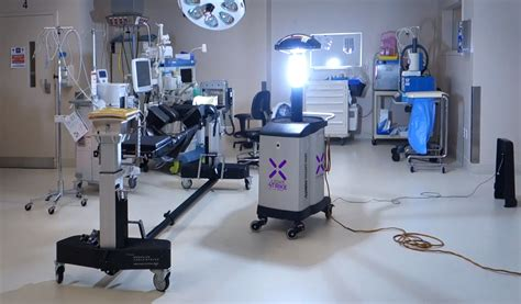 Xenex raises $38M for germ-zapping robots for research and