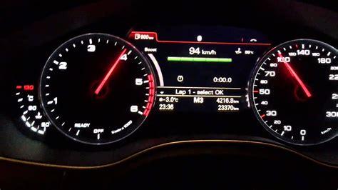 audi    tdi hp shift light lap timer