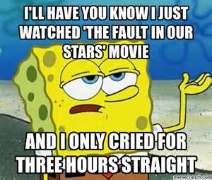 Fault In Our Stars Meme - the fault in our stars