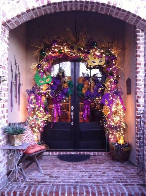 Mardi Gras Door Decorations by Mardi Gras Door Gorgeous