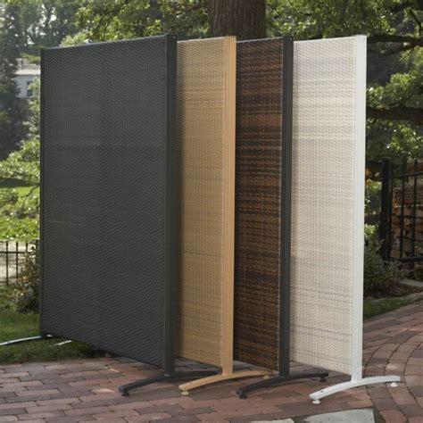 versare outdoor wicker resin divider patio furniture