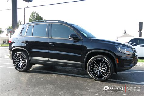 vw tiguan   savini bm wheels exclusively