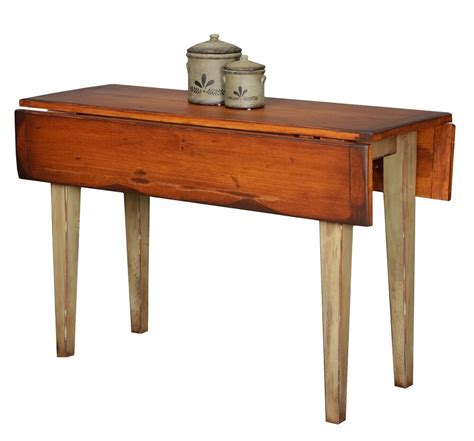 small farm table kitchen primitive furniture table drop side leaf farmhouse farm