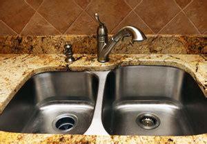 overmount kitchen sink on granite comparison of undermount sink choices for kitchen countertops