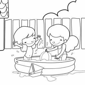 Dessin De Piscine : coloriage 3 6 ans piscine ~ Melissatoandfro.com Idées de Décoration