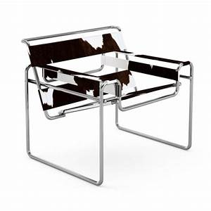 Fauteuil Peau De Vache : fauteuil knoll wassily peau de vache ~ Teatrodelosmanantiales.com Idées de Décoration
