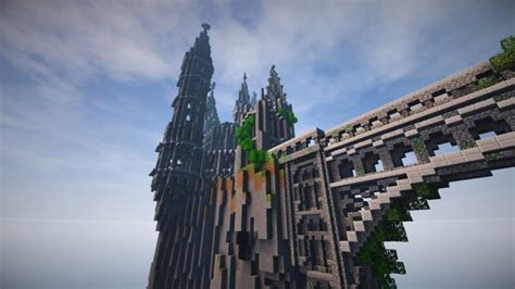 abandoned caribbean castle minecraft building