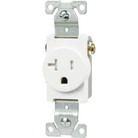 Eaton Amp Tamper Resistant Pole Single Receptacle