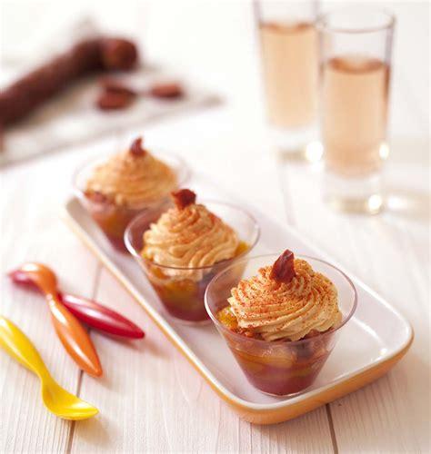cuisine d été recette verrines d été poivrons et chantilly de chorizo les