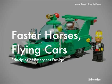 faster horses cars flying slideshare