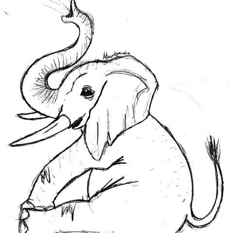 baby elephant coloring pages coloring pages pictures