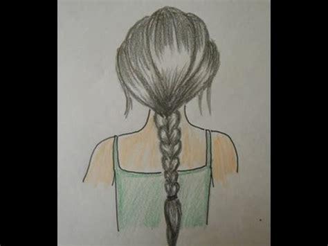 draw hair braids easy drawing step  step