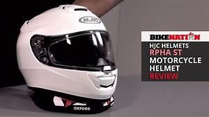 Hjc Rpha St : hjc rpha st motorcycle helmet review youtube ~ Medecine-chirurgie-esthetiques.com Avis de Voitures